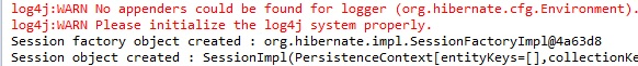 Creating Hibernate Session Object Using hibernate.cfg.xml file