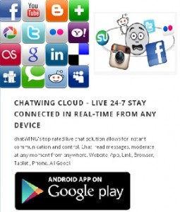 chatwing - implementing social media