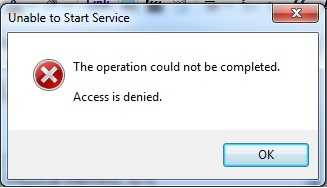 Access is not possible