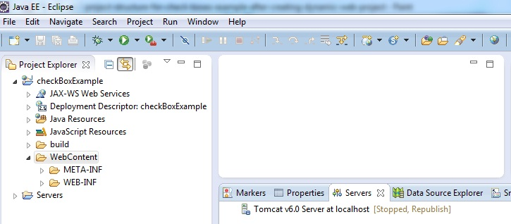 Check boxes example in jsp