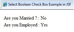 Image showing selected values in checkboxes