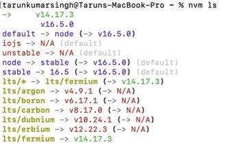 Install NVM Node JS Angular Java on MAc OS